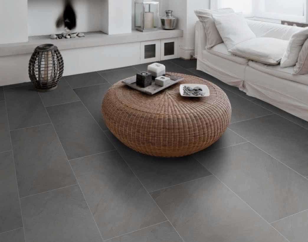 Ocean Black Rock flooring