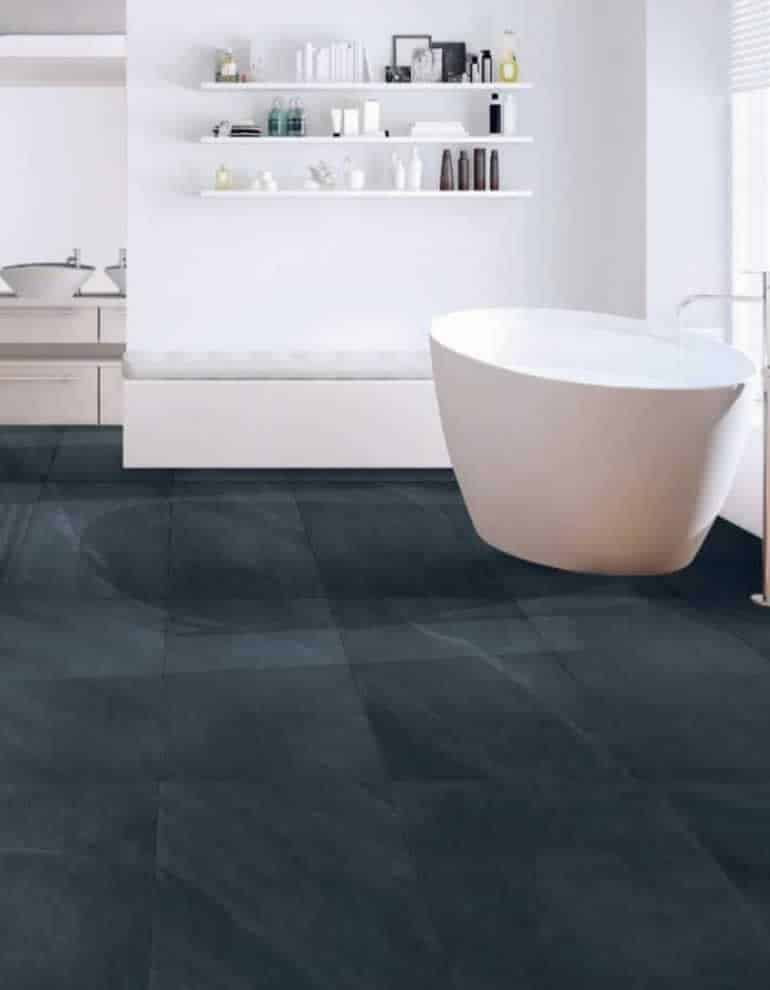 SQM flooring ocean black